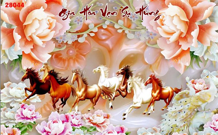 Tranh Ngựa | Tranh Mã Đáo Thành Công - 28044