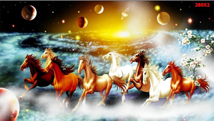 Tranh Ngựa | Tranh Mã Đáo Thành Công - 28052