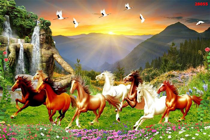Tranh Ngựa | Tranh Mã Đáo Thành Công - 28055