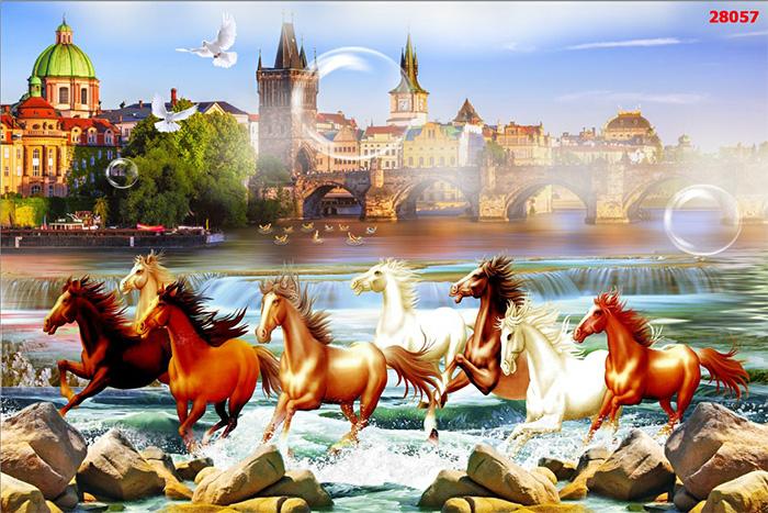 Tranh Ngựa | Tranh Mã Đáo Thành Công - 28057