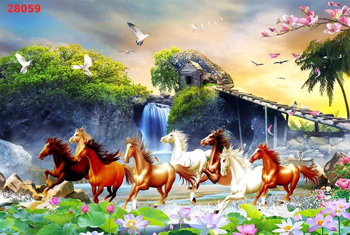 Tranh Ngựa | Tranh Mã Đáo Thành Công - 28059