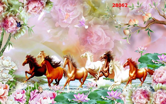 Tranh Ngựa | Tranh Mã Đáo Thành Công - 28062