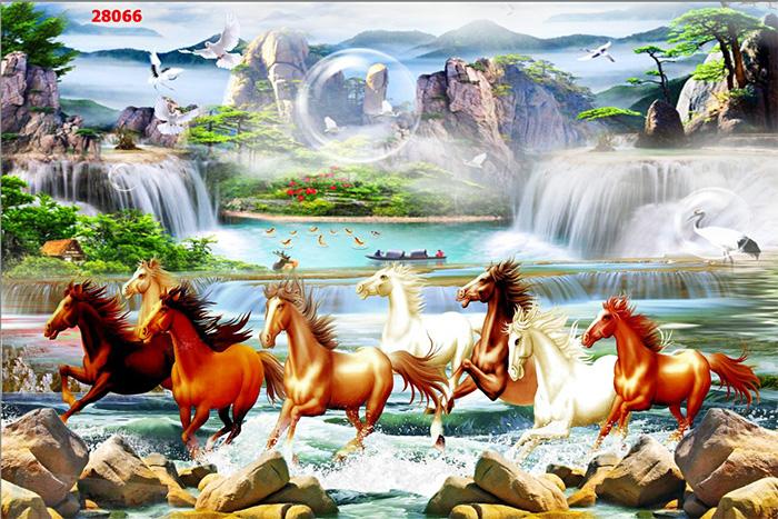 Tranh Ngựa | Tranh Mã Đáo Thành Công - 28066
