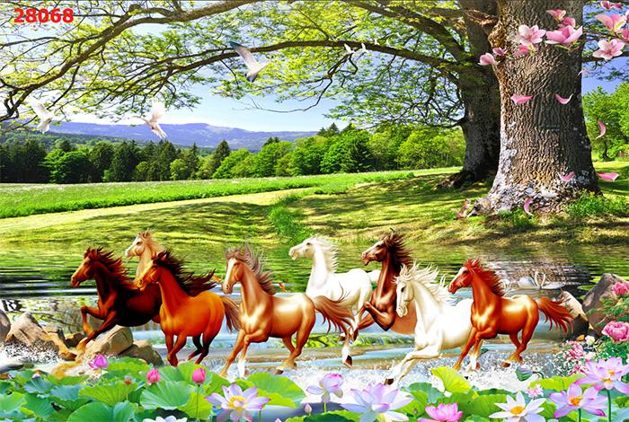 Tranh Ngựa | Tranh Mã Đáo Thành Công - 280681