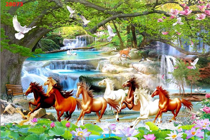 Tranh Ngựa | Tranh Mã Đáo Thành Công - 28073