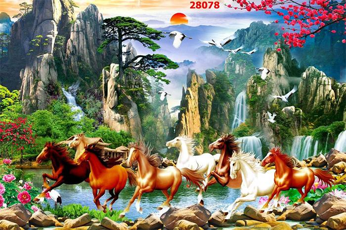 Tranh Ngựa | Tranh Mã Đáo Thành Công - 28078