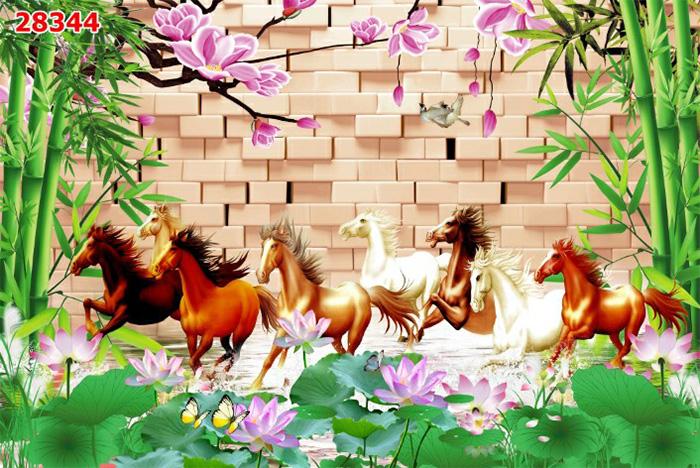 Tranh Ngựa | Tranh Mã Đáo Thành Công - 28344