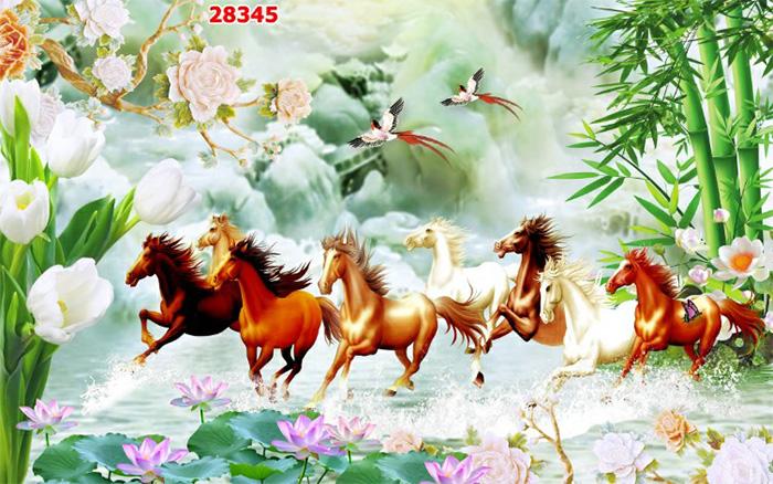 Tranh Ngựa | Tranh Mã Đáo Thành Công - 28345