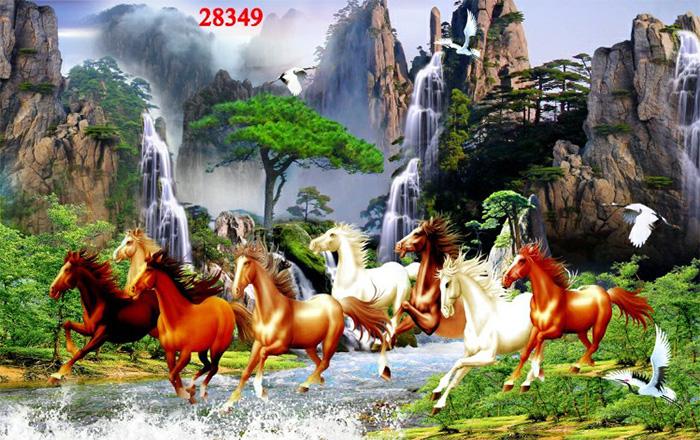 Tranh Ngựa | Tranh Mã Đáo Thành Công - 28349