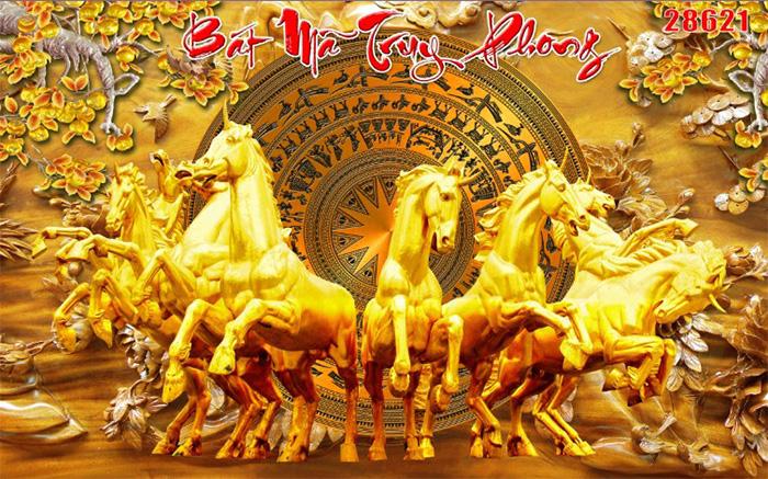 Tranh Ngựa | Tranh Mã Đáo Thành Công - 28621