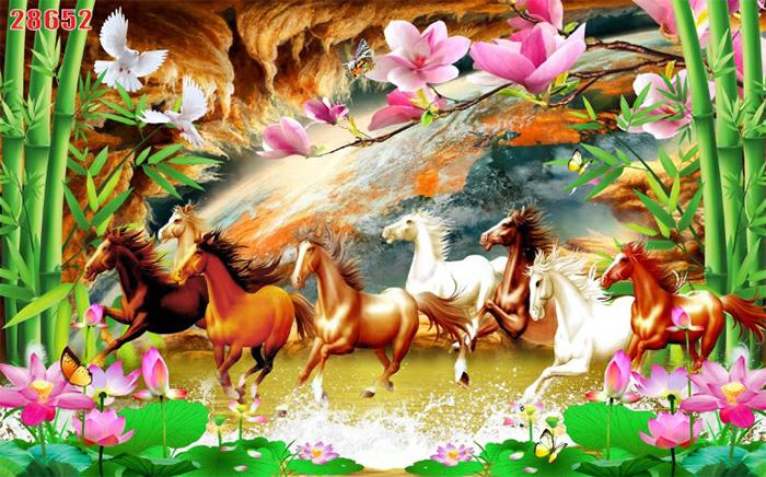 Tranh Ngựa | Tranh Mã Đáo Thành Công - 28652