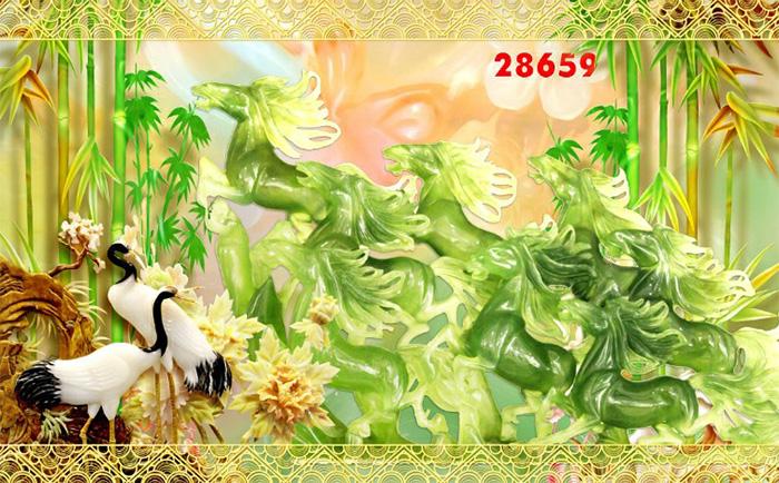 Tranh Ngựa | Tranh Mã Đáo Thành Công - 28659