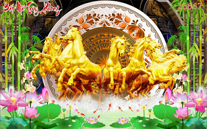 Tranh Ngựa | Tranh Mã Đáo Thành Công - 28667