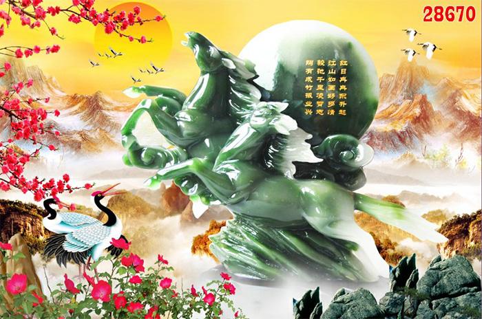 Tranh Ngựa | Tranh Mã Đáo Thành Công - 28670
