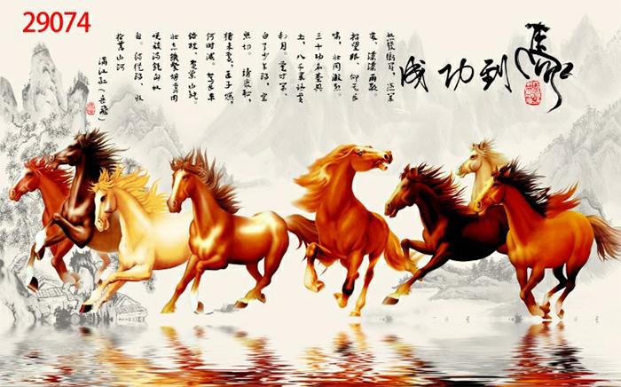 Tranh Ngựa | Tranh Mã Đáo Thành Công - 29074