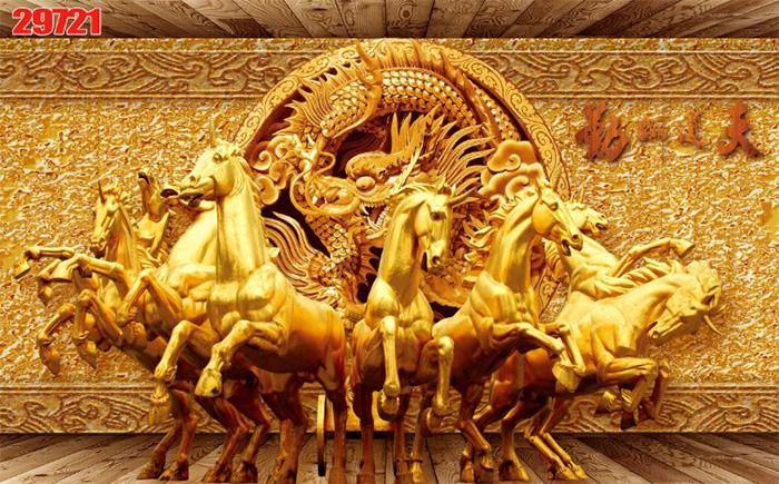 Tranh Ngựa | Tranh Mã Đáo Thành Công - 29721