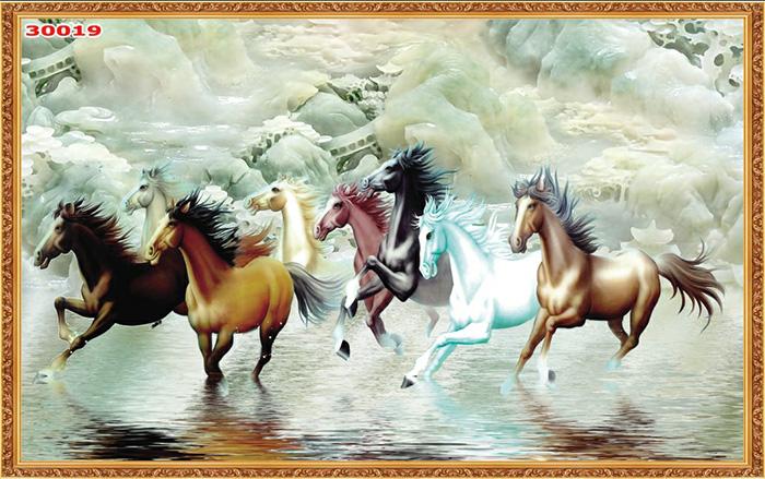 Tranh Ngựa | Tranh Mã Đáo Thành Công - 30019