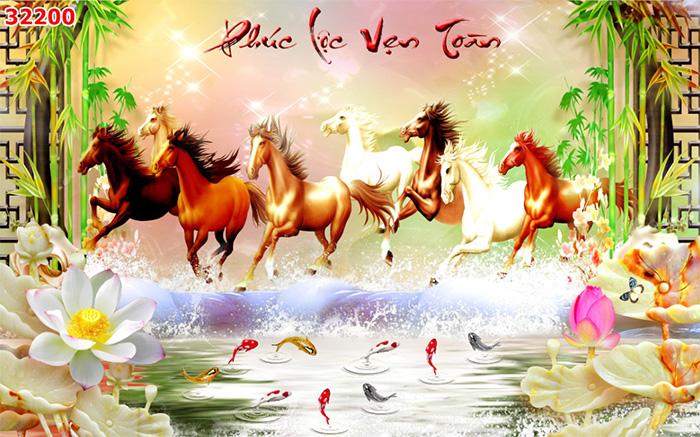 Tranh Ngựa | Tranh Mã Đáo Thành Công - 32200