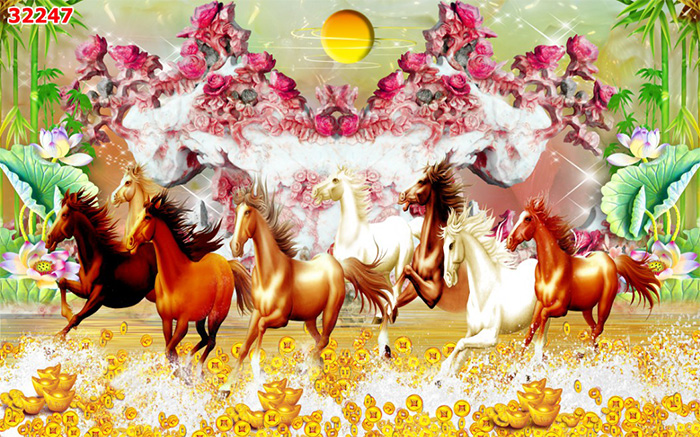 Tranh Ngựa | Tranh Mã Đáo Thành Công - 32247