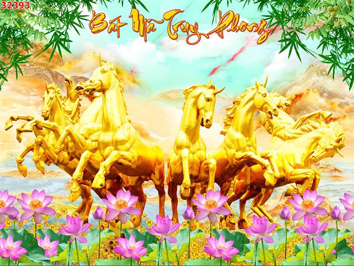 Tranh Ngựa | Tranh Mã Đáo Thành Công - 32393