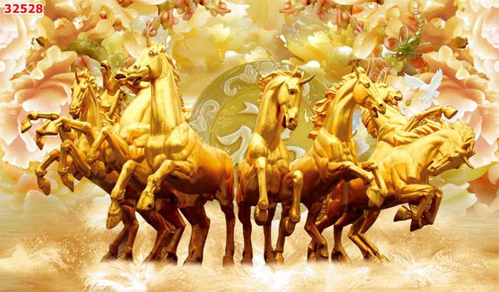 Tranh Ngựa   Tranh Mã Đáo Thành Công - 32528