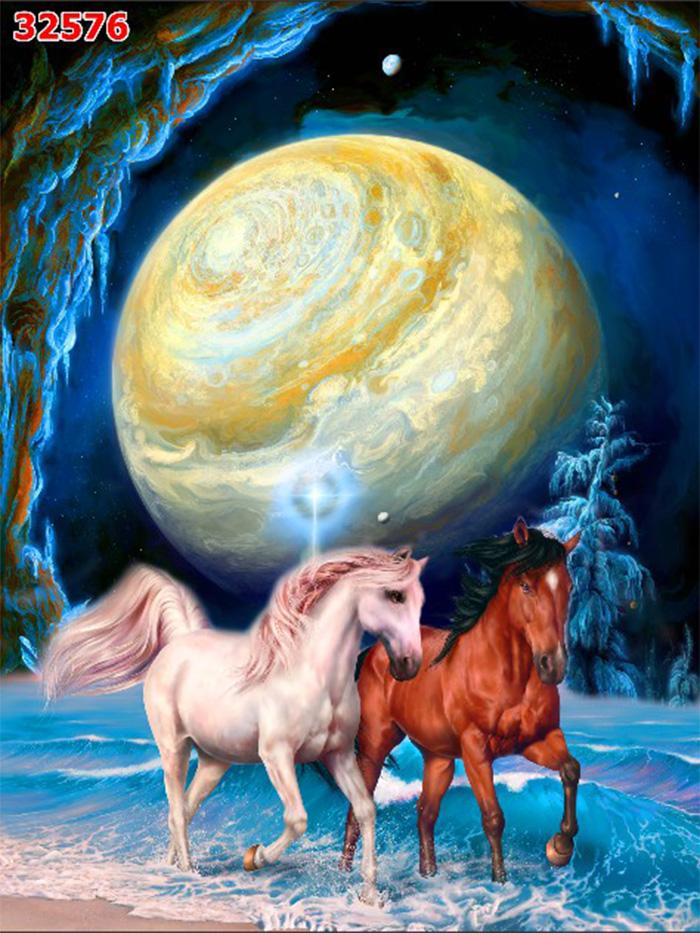 Tranh Ngựa | Tranh Mã Đáo Thành Công - 32576