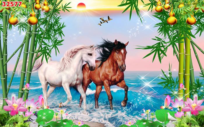 Tranh Ngựa   Tranh Mã Đáo Thành Công - 32577