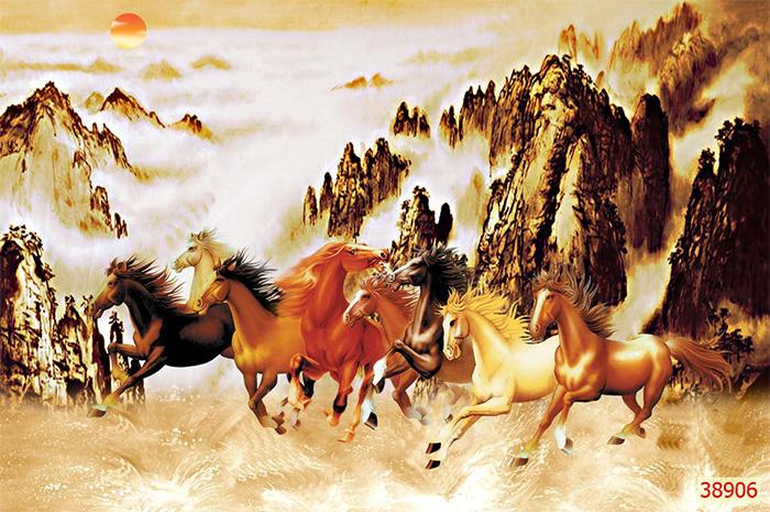 Tranh Ngựa   Tranh Mã Đáo Thành Công - 38906