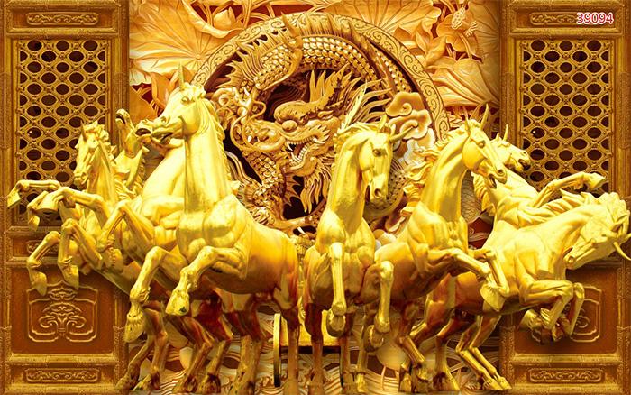 Tranh Ngựa | Tranh Mã Đáo Thành Công - 39094