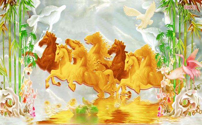 Tranh Ngựa | Tranh Mã Đáo Thành Công - 39133