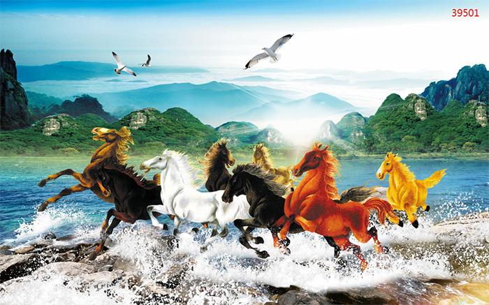 Tranh Ngựa | Tranh Mã Đáo Thành Công - 39501