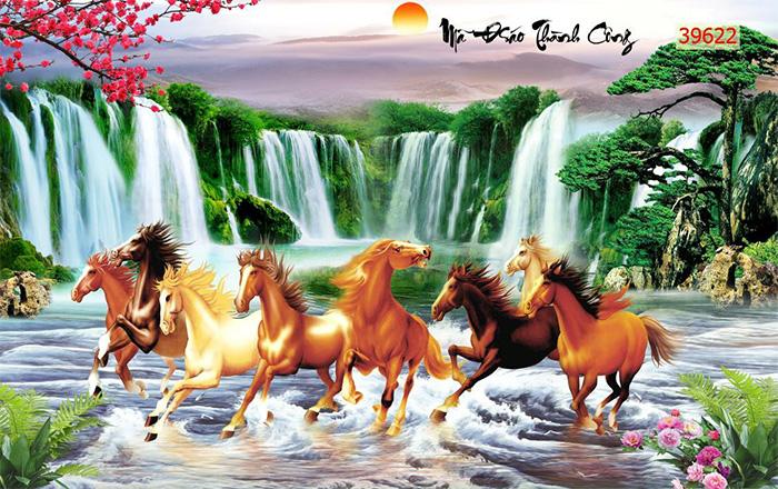Tranh Ngựa | Tranh Mã Đáo Thành Công - 39622