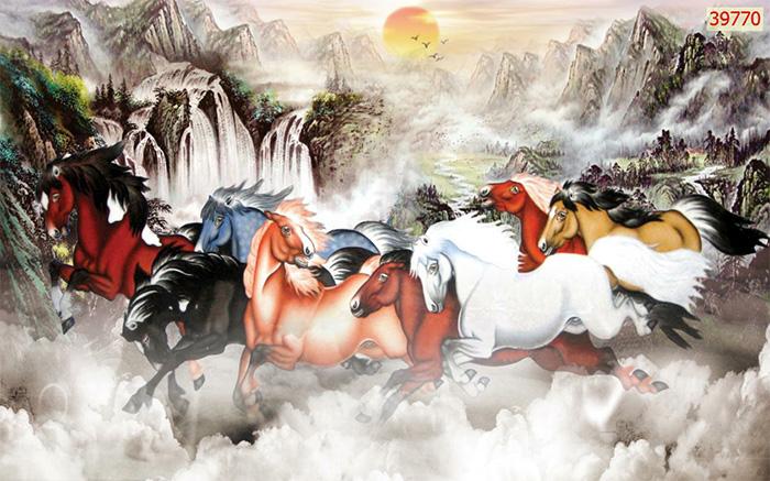 Tranh Ngựa | Tranh Mã Đáo Thành Công - 39770