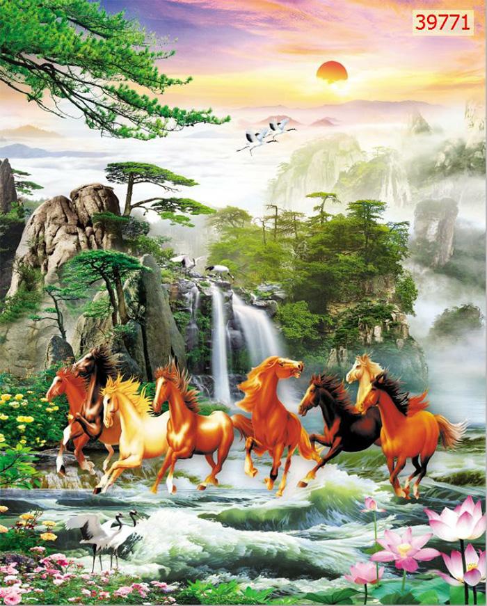Tranh Ngựa | Tranh Mã Đáo Thành Công - 39771