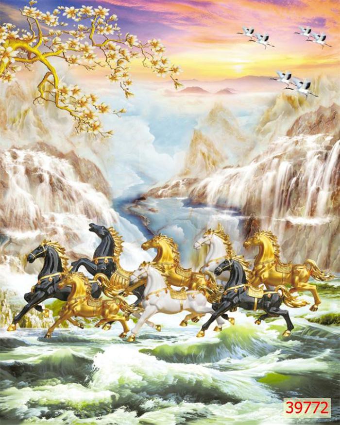 Tranh Ngựa | Tranh Mã Đáo Thành Công - 39772