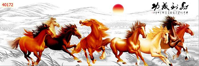 Tranh Ngựa | Tranh Mã Đáo Thành Công - 40172