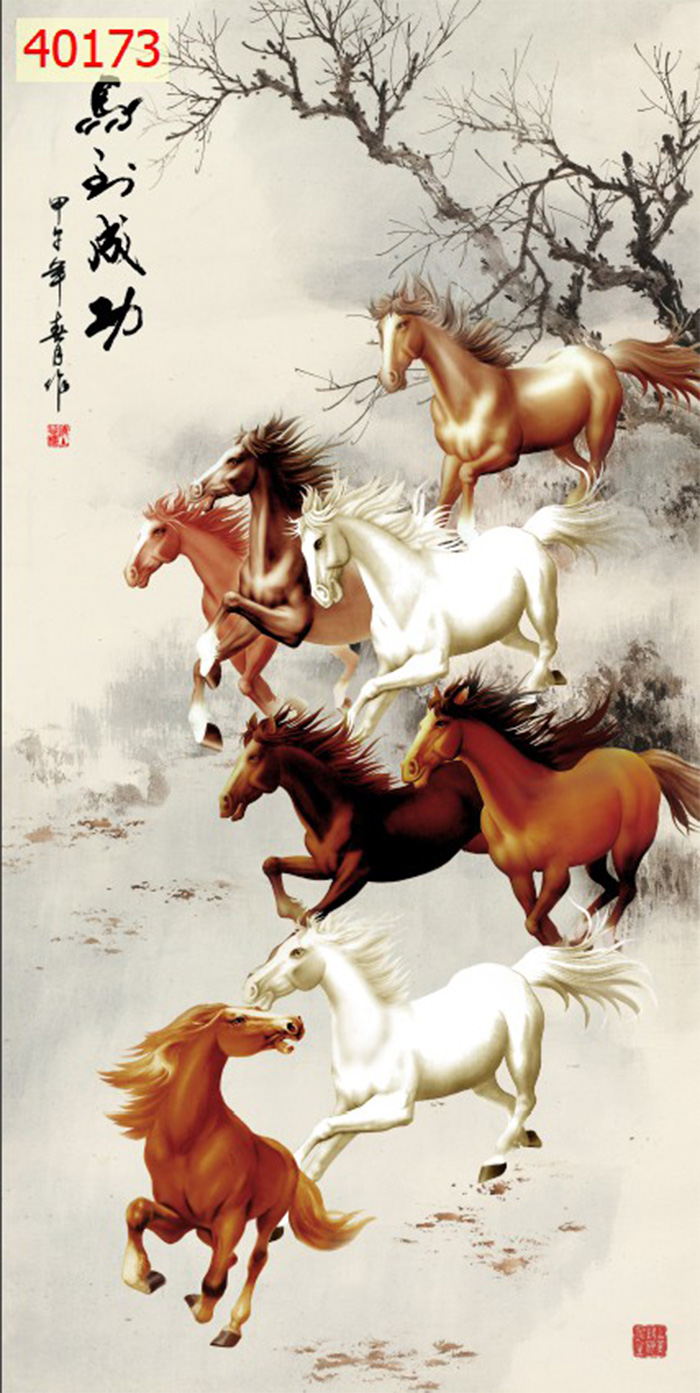 Tranh Ngựa | Tranh Mã Đáo Thành Công - 40173