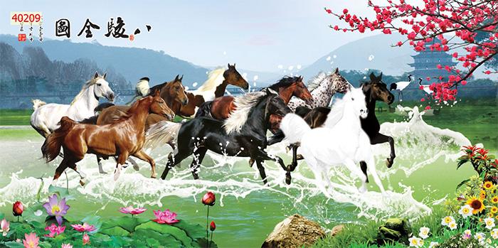 Tranh Ngựa | Tranh Mã Đáo Thành Công - 40209