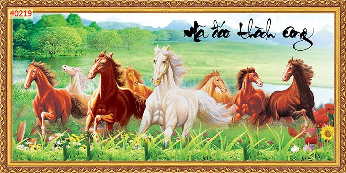 Tranh Ngựa | Tranh Mã Đáo Thành Công - 40219