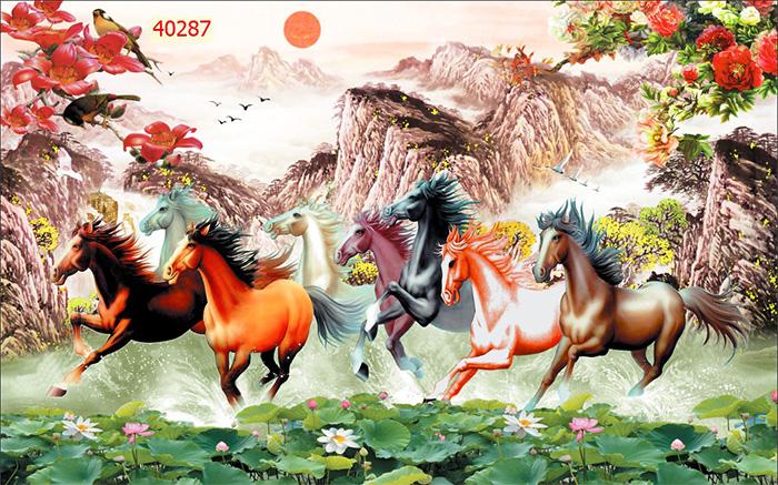 Tranh Ngựa | Tranh Mã Đáo Thành Công - 40287