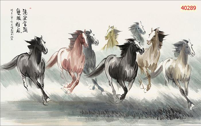Tranh Ngựa | Tranh Mã Đáo Thành Công - 40289
