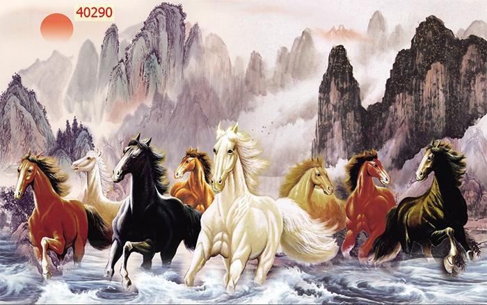Tranh Ngựa | Tranh Mã Đáo Thành Công - 40290