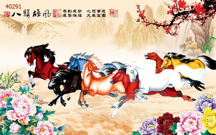 Tranh Ngựa | Tranh Mã Đáo Thành Công - 40291