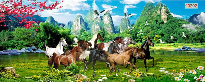 Tranh Ngựa | Tranh Mã Đáo Thành Công - 40292
