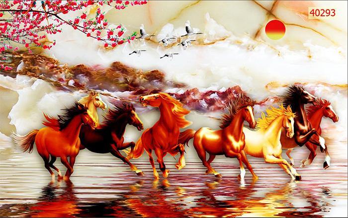 Tranh Ngựa | Tranh Mã Đáo Thành Công - 40293