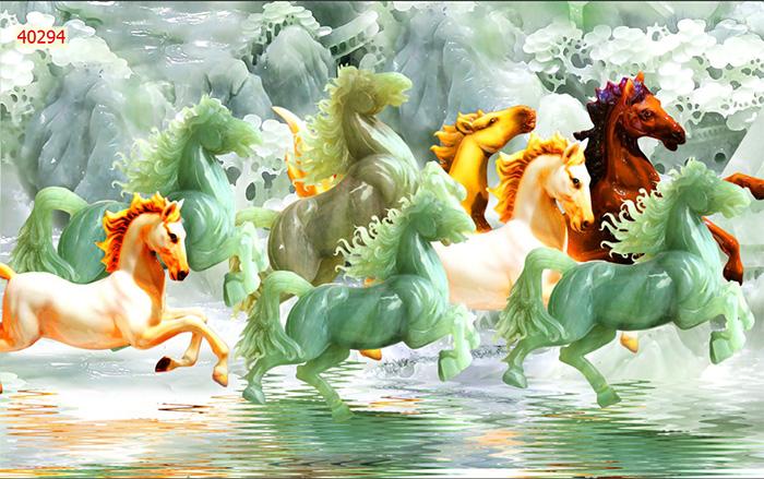 Tranh Ngựa | Tranh Mã Đáo Thành Công - 40294