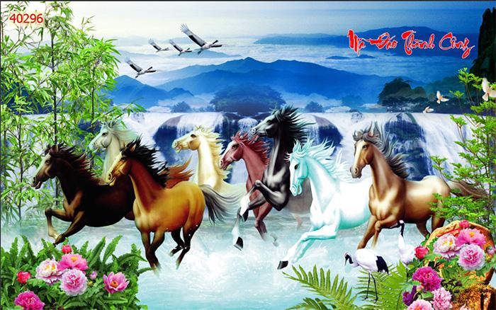 Tranh Ngựa | Tranh Mã Đáo Thành Công - 40296