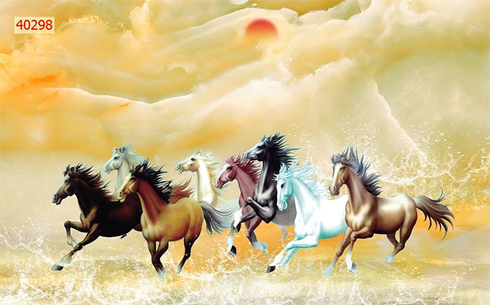 Tranh Ngựa | Tranh Mã Đáo Thành Công - 40298