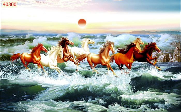 Tranh Ngựa | Tranh Mã Đáo Thành Công - 40300