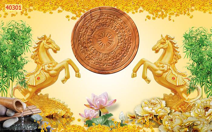 Tranh Ngựa | Tranh Mã Đáo Thành Công - 40301